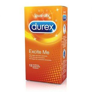 12 Durex condooms met noppen