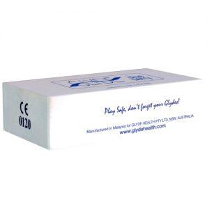 100 Glyde condooms blauwe bes